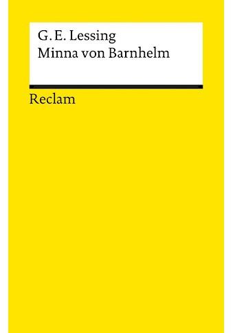 Buch Minna von Barnhelm / Gotthold E Lessing kaufen