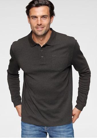Daniel Hechter Langarm-Poloshirt, mit Brusttasche kaufen