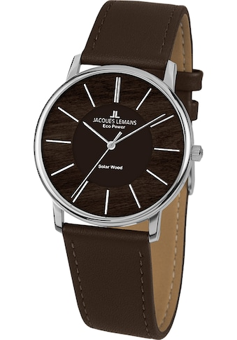 Jacques Lemans Solaruhr »Eco Power - Solar Wood, 1-2106A« kaufen