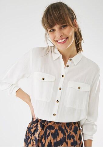Mexx Hemdbluse, mit aufgesetzten Brust-Taschen kaufen