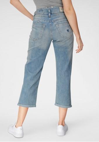 Herrlicher High-waist-Jeans »PITCH HIGH TAP«, mit Destroyed Effekten kaufen