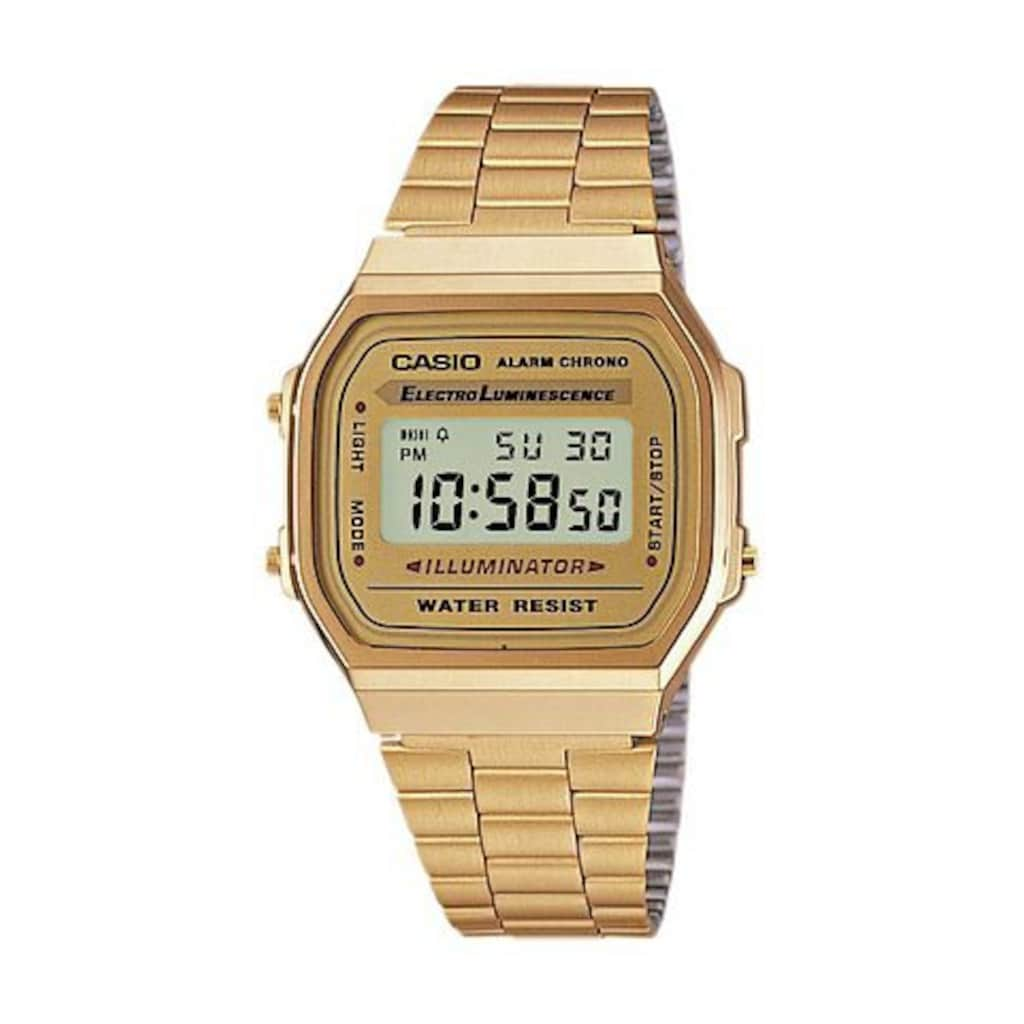 CASIO VINTAGE Chronograph »A168WG-9EF«