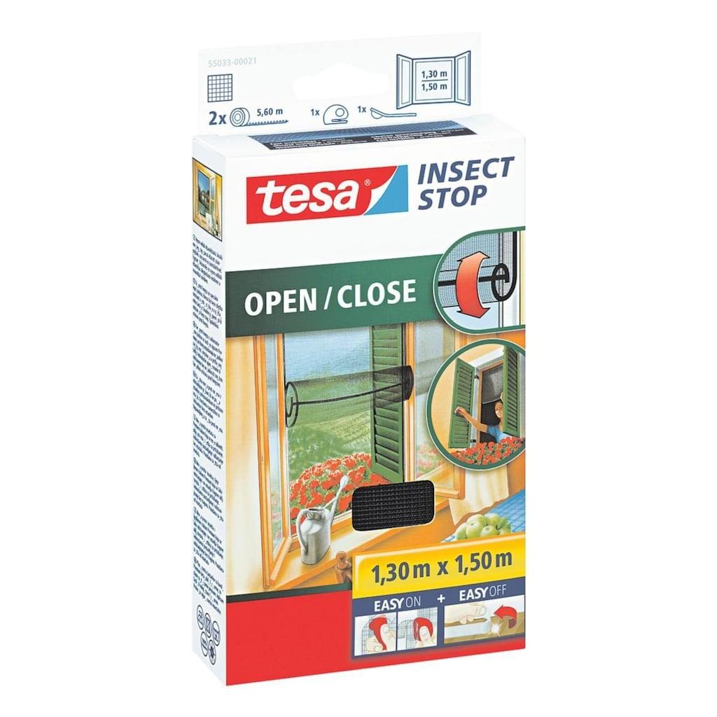 tesa Fliegengitter zum Öffnen und Schließen 130x150 cm 55033