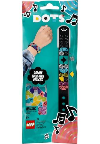 LEGO® Konstruktionsspielsteine »Musik Armband (41933), LEGO® DOTS«, (33 St.) kaufen