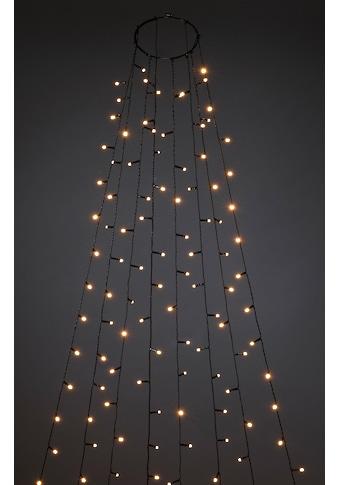 KONSTSMIDE LED - Lichterkette »Baummantel mit Ring und 8 Strängen« kaufen