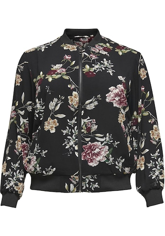 ONLY CARMAKOMA Bomberjacke, mit floralem Print kaufen