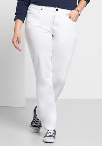 Sheego Stretch-Hose, elastische Twill-Qualität kaufen