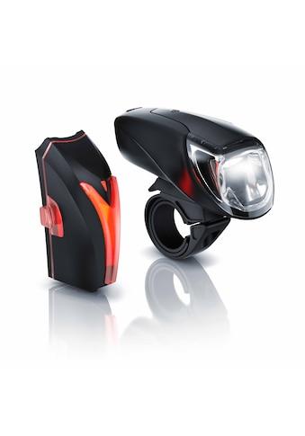 Aplic LED Akku Fahrradlbeleuchtung mit Front & Rücklicht »StvZO zugelassenes Fahrradlampen Set« kaufen