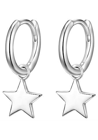 Glanzstücke München Paar Creolen »Sterne, 50080033«, mit abnehmbaren Einhängern kaufen