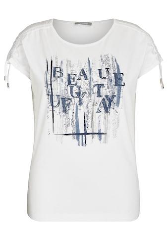 Rabe Rundhalsshirt, mit Glitzer-Druck und Rundhalsausschnitt kaufen
