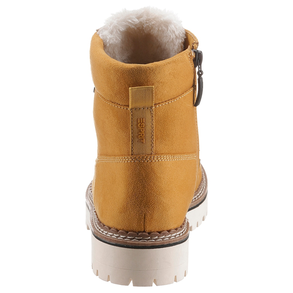 Esprit Winterboots »SIENA TEX BOOTIE«, mit Tex-Ausstattung