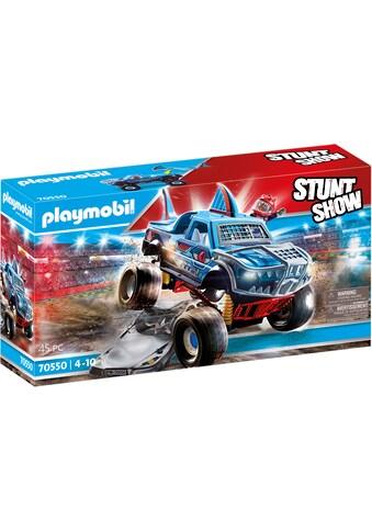 Playmobil® Konstruktions-Spielset »Monster Truck Shark (70550), Stuntshow«, (45 St.) kaufen