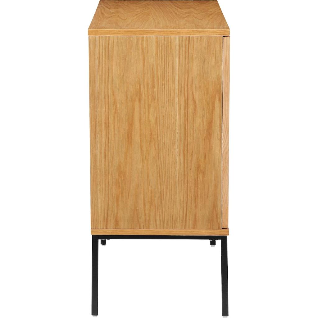 COUCH♥ Sideboard »Feines Geflecht«, COUCH Lieblingsstücke, Front mit Wiener Geflecht