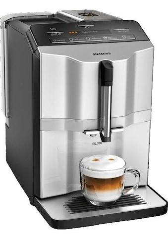 SIEMENS Kaffeevollautomat »EQ.300 TI353501DE«, Doppeltassenbezug für Kaffee und Espresso kaufen