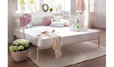 Home affaire Daybett »Birgit«, mit einer praktischen ausziehbaren Liegefläche, schönes Metallgestell kaufen