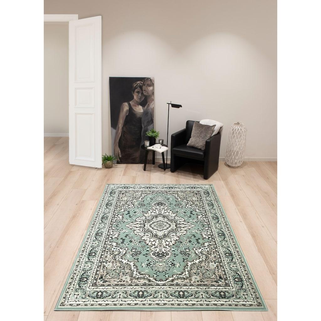 DELAVITA Teppich »Oriental«, rechteckig, 7 mm Höhe, Orient-Optik, Wohnzimmer