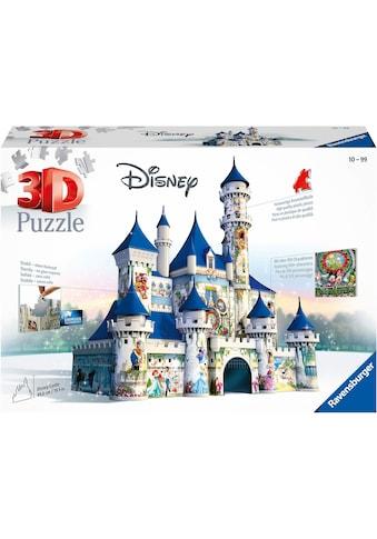 Ravensburger 3D-Puzzle »Disney Schloss«, FSC® - schützt Wald - weltweit; Made in Europe kaufen