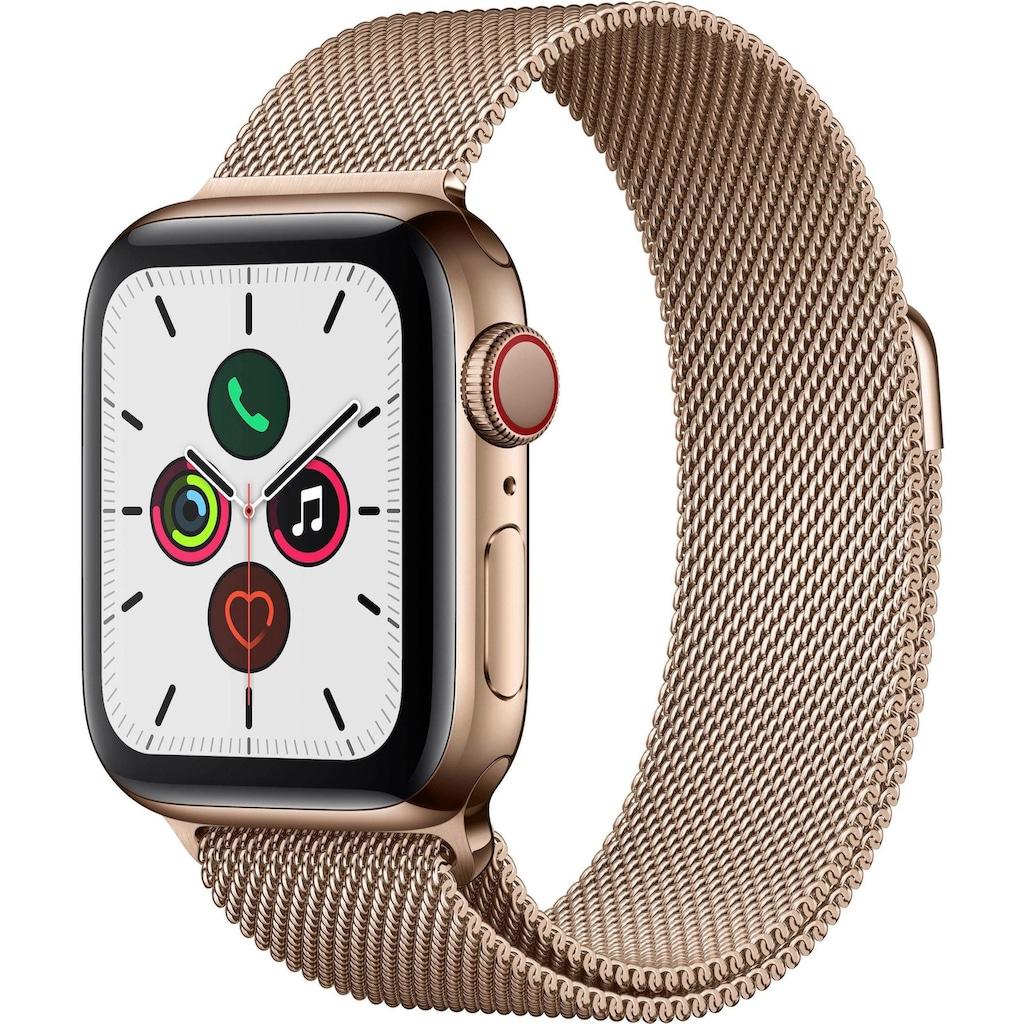 Apple Smartwatch »Apple Watch Series 5 GPS + Cellular«