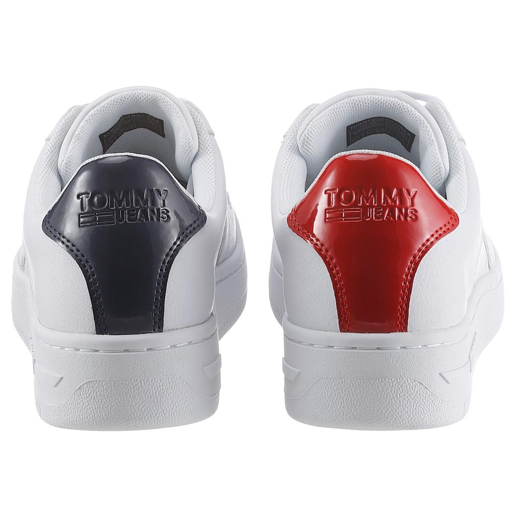Tommy Jeans Sneaker »WMNS TOMMY JEANS BASKET SNEAKER«, mit Ortolite Blue Foram Ausstattung