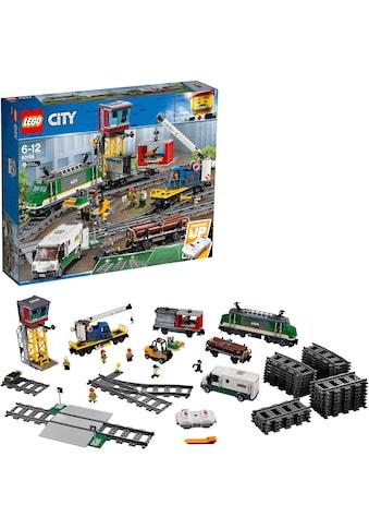 """LEGO® Konstruktionsspielsteine """"Güterzug (60198), LEGO® City"""", (1226 - tlg.) kaufen"""