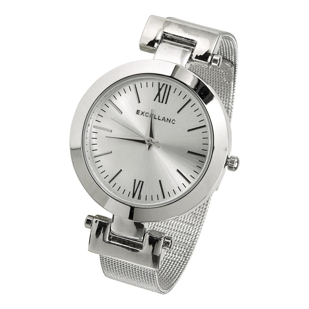 Armbanduhr mit Mesh-Band