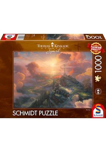 Schmidt Spiele Puzzle »Spirit, Das Kreuz«, Thomas Kinkade; Made in Europe kaufen