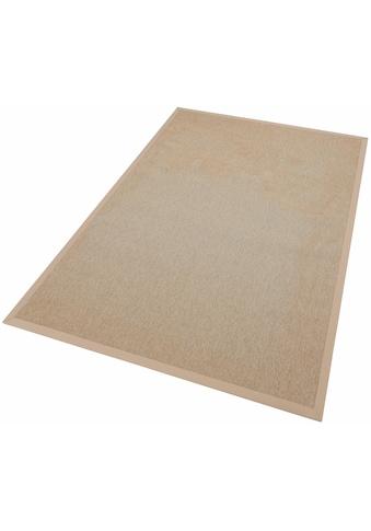 Dekowe Teppich »Naturino Rips«, rechteckig, 7 mm Höhe, Flachgewebe, Sisal-Optik, In- und Outdoor geeignet, Wohnzimmer kaufen