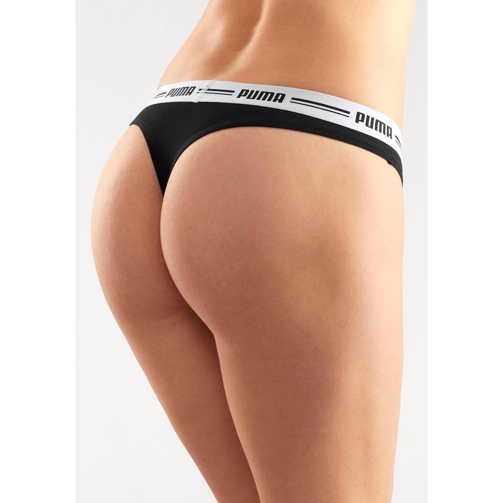 PUMA String »Iconic«, mit weichem Logobündchen