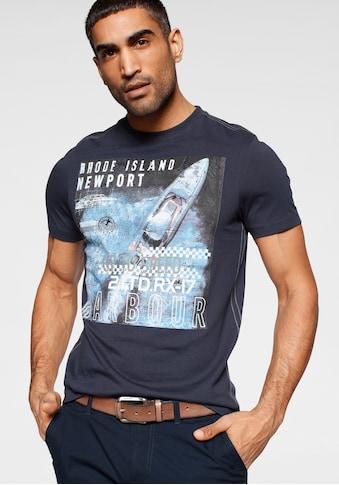 Rhode Island Print-Shirt, mit großem Frontprint kaufen