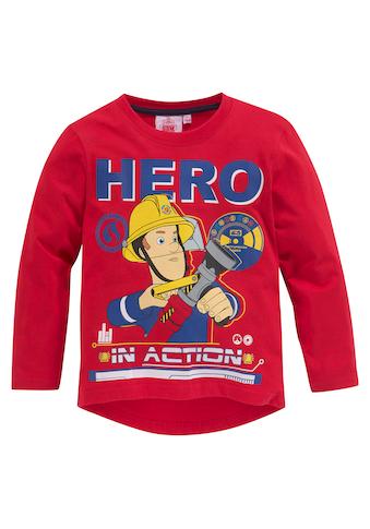 Feuerwehrmann Sam Langarmshirt »HERO IN ACTION« kaufen