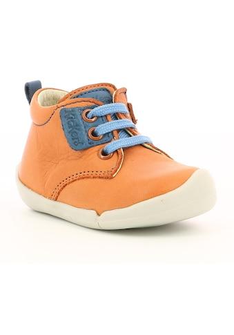 Kickers Lauflernschuh »Wazzap«, mit farbigem Einsatz kaufen