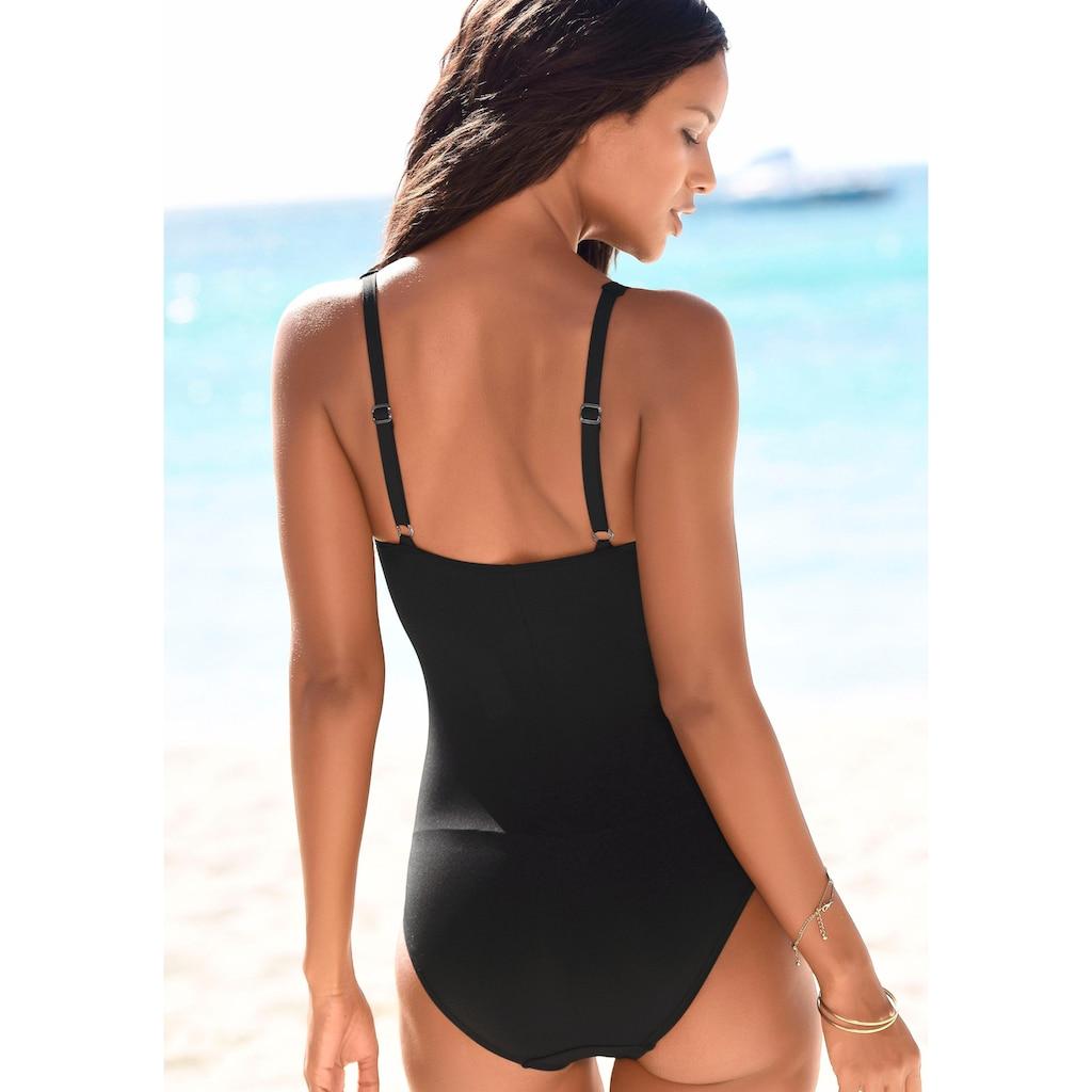 LASCANA Badeanzug »Gala«, im edlen Druck