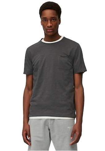 Marc O'Polo T-Shirt, mit Brusttasche kaufen