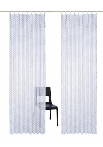 Home affaire Gardine »Hannah«, Vorhang, Fertiggardine, transparent kaufen