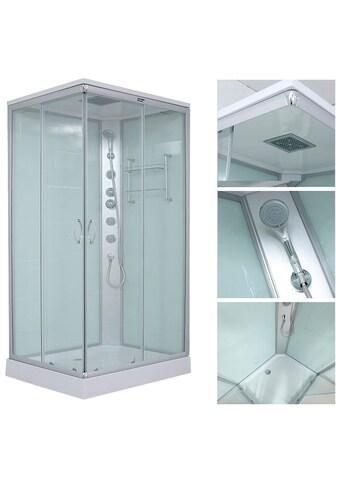 HOME DELUXE Komplettdusche »Venus XL«, mit Massage-Funktion und Soft-Close kaufen