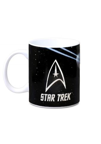 LOGOSHIRT Tasse mit tollem Serien - Print »Star Trek  -  USS Enterprise« kaufen