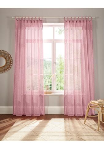 Home affaire Gardine »Hannah-Uni«, Vorhang, Fertiggardine, transparent kaufen
