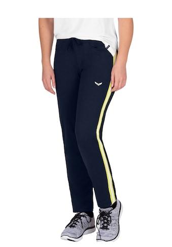 Trigema Jogginghose, (1 tlg.), mit kontrastfarbigen Streifen kaufen