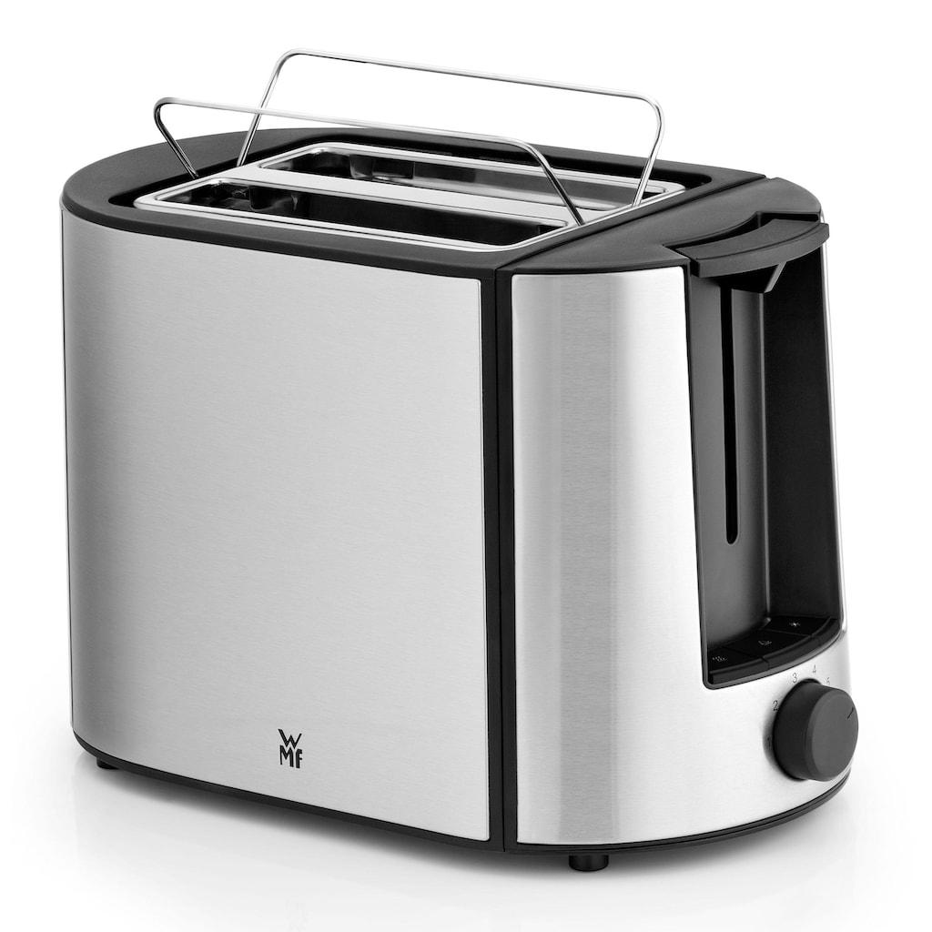 WMF Toaster »Bueno Pro«, 2 kurze Schlitze, für 2 Scheiben, 870 W