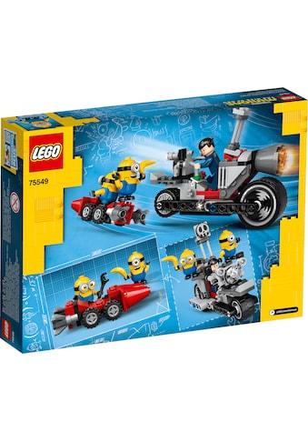 LEGO® Konstruktionsspielsteine »Unaufhaltsame Motorrad-Jagd (75549), LEGO® Minions«,... kaufen