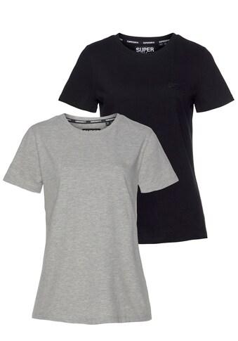 Superdry T-Shirt, mit dezenter Logostickerei kaufen