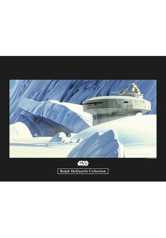 Komar Poster »Star Wars Classic RMQ Hoth Echo Base«, Star Wars kaufen