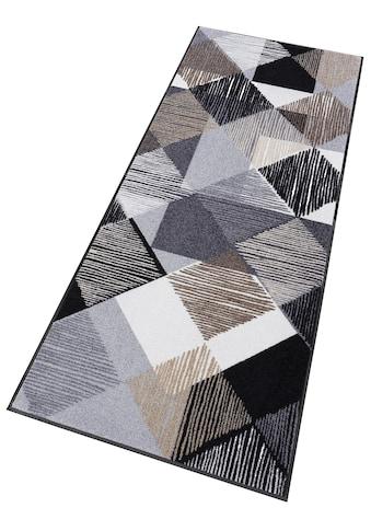 wash+dry by Kleen-Tex Läufer »Lines and Boxes«, rechteckig, 7 mm Höhe, In- und Outdoor... kaufen