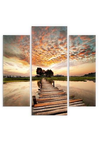 Wall-Art Mehrteilige Bilder »To the other Side (3-teilig)«, (Set, 3 St.) kaufen
