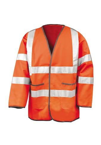 Result Outdoorjacke »Herren Hi Vis Autobahn Sicherheitsjacke« kaufen