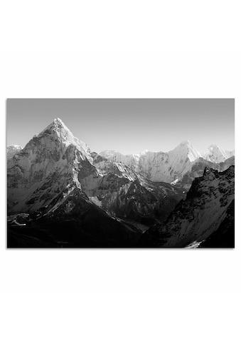 Home affaire Leinwandbild »Berge« kaufen