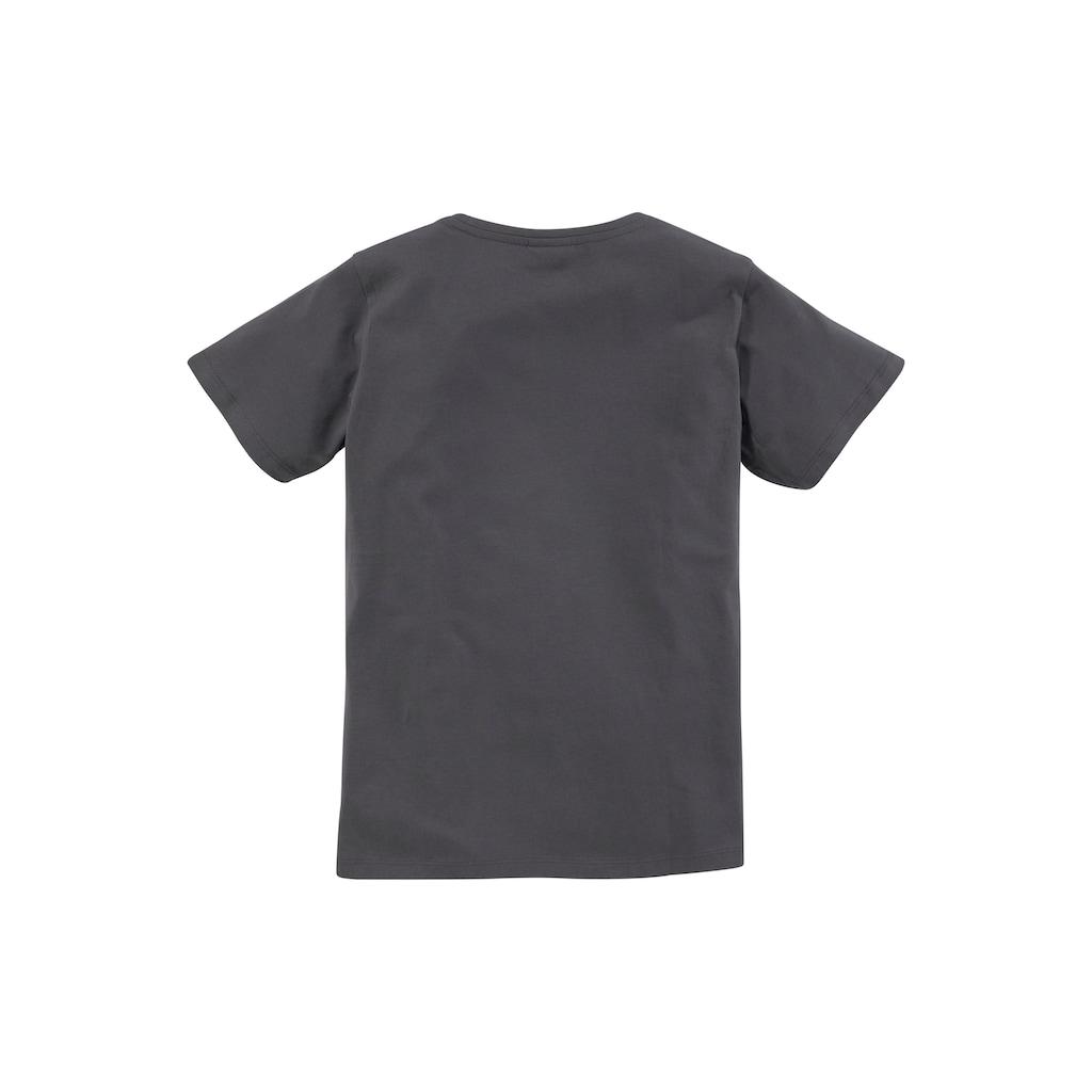 KIDSWORLD T-Shirt »LASS MICH ÜBERLEGEN... NEIN«