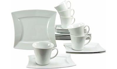 CreaTable Kaffeeservice »SAILING«, (Set, 18 tlg.), Mikrowellengeeignet kaufen