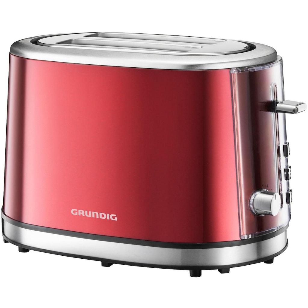 Grundig Toaster »TA 6330«, 2 kurze Schlitze, 850 W