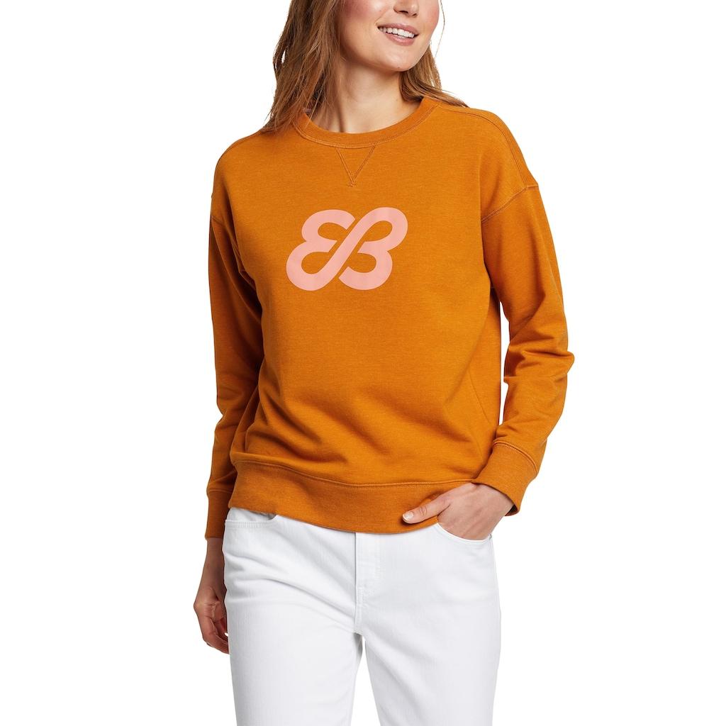 Eddie Bauer Sweatshirt, Cozy Camp mit Logo
